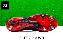 Zapatos de fútbol para césped natural húmedo
