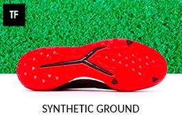 Zapatos de fútbol para césped artificial - Moqueta