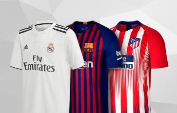 c6a6604e2124f Uniformes y productos oficiales de equipos y selecciones de fútbol ...
