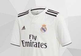 f96f665982 Uniformes oficiales del Real Madrid - Tienda de fútbol Fútbol Emotion