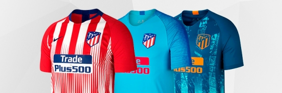 Magliette dell'Atletico Madrid