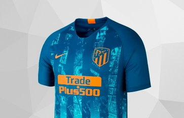 ATLÉTICO DE MADRID THIRD KIT