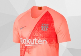 EQUIPEMENT THIRD DU FC BARCELONE
