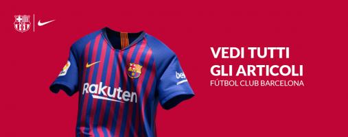 Tutto l'abbigliamento del Barcellona