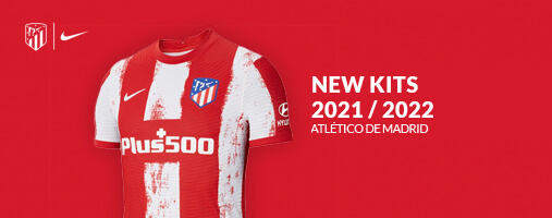 Tutto l'abbigliamento dell'Atletico Madrid