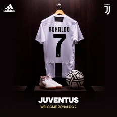 Welcome CR7