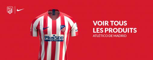 Tous les produits officiels de l'Atlético de Madrid