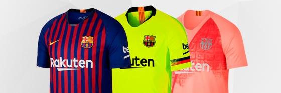Camisetas del FC Barcelona