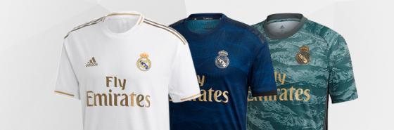 official photos a00cf 46d95 Real Madrid Shirts. Real Madrid Football Kits - Football ...