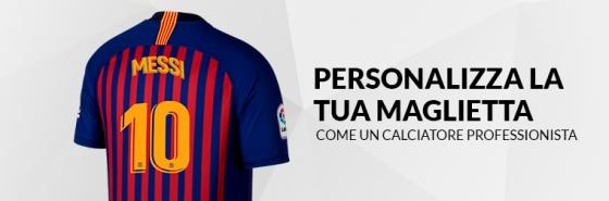 Personalizza la tua maglietta del FC Barcellona