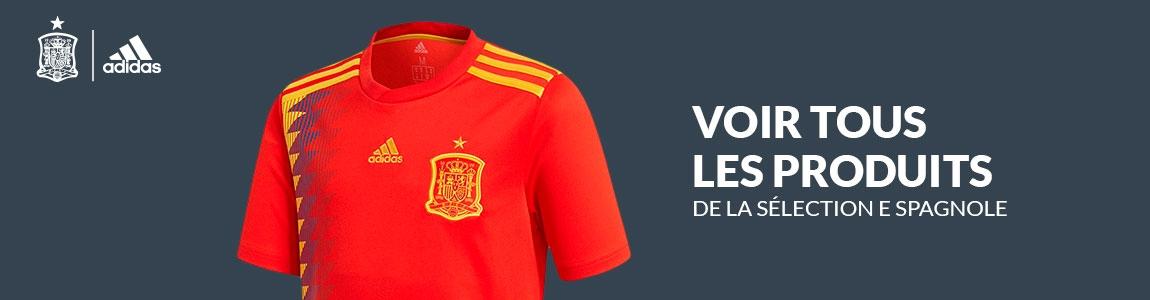 Tous les produits officiels de la sélection espagnole