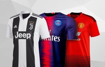 f720f1a284878 Camisetas de fútbol de los mejores equipos de La Liga BBVA. Ligas  internacionales