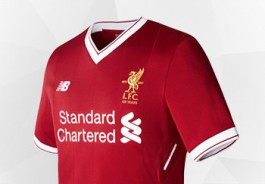 Camiseta New Balance del Liverpool