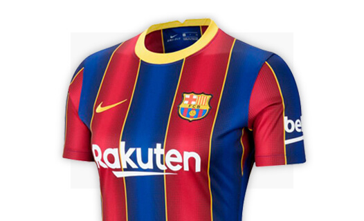 Jerseys Fc Barcelona Uniforme Oficial Fc Barcelona Tienda De Futbol Futbol Emotion