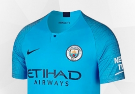 MANCHESTER CITY  JERSEYS