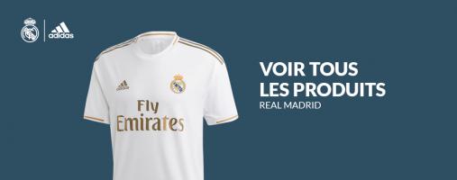 Tous les produits officiels du Real Madrid