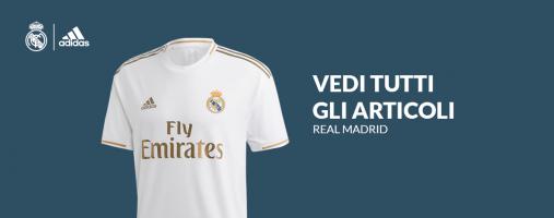 Tutto l'abbigliamento del Real Madrid