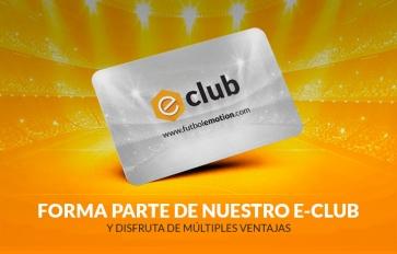 Hazte Socio e-Club y forma parte de Fútbol Emotion