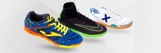 Zapatillas de fútbol sala para hombre y mujer