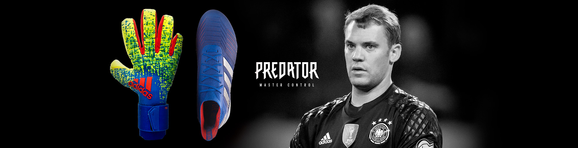 299f304ba08 The gloves and boots worn by Manuel Neuer - Football store Fútbol ...
