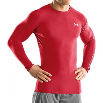 T-Shirt  Under Armour Coldgear Compression Crew II Red