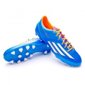 Chuteira  adidas Jr F10 TRX HG Solar blue