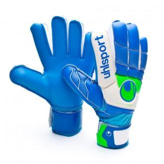 Glove  Uhlsport Fangmaschine Soft Blue Blue-White