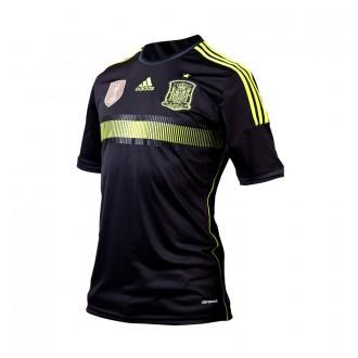 T-Shirt  adidas Seleccion Española 2014 Black-Electricity