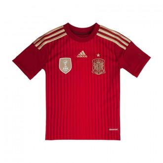 T-Shirt  adidas Jr Selección Española 2014 Red