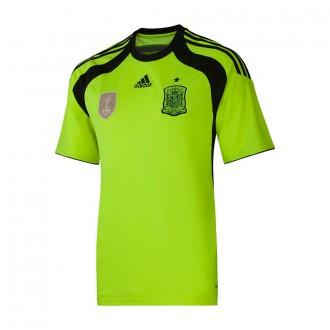 T-Shirt  adidas Portero Selección 2014 Electricity-Black