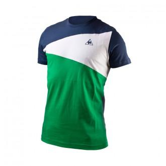 T-Shirt  Le coq sportif Tricolores Soulor Blue