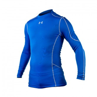 Camisola  Under Armour Evo Coldgear Compression New Mock Royal
