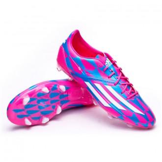 Bota  adidas F30 TRX FG Solar pink-Blanca-Solar blue