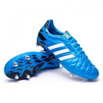 Bota  adidas adipure 11Pro XTRX SG Solar blue-Blanca