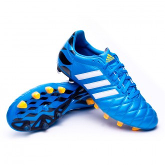 Bota  adidas adipure 11Pro TRX FG Solar blue-Blanca