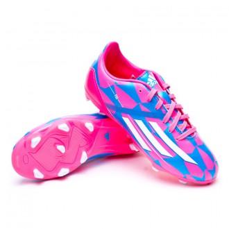 Bota  adidas Jr F10 TRX FG Solar pink-Solar blue