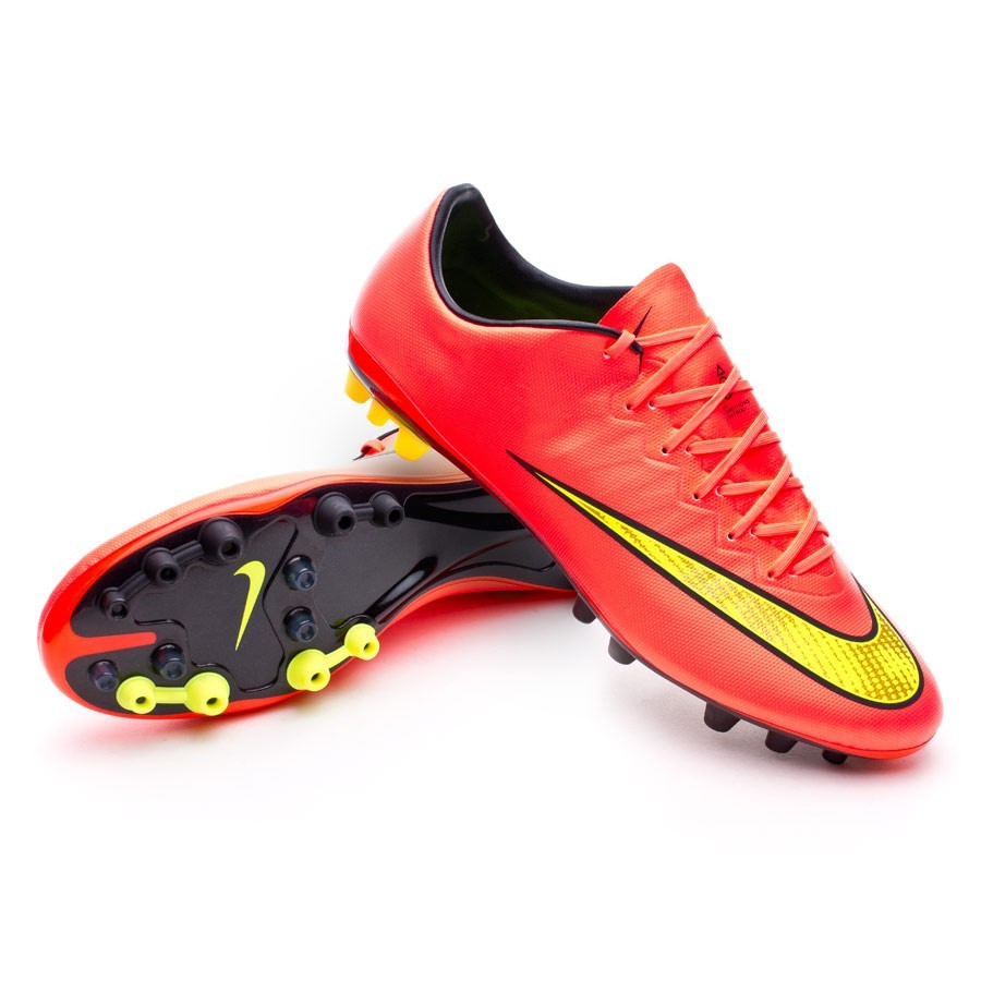 boot nike mercurial vapor x ag acc hyper punch gold. Black Bedroom Furniture Sets. Home Design Ideas