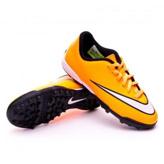 Chaussure  Nike Jr Mercurial Vortex II Turf Laser orange-White-Volt