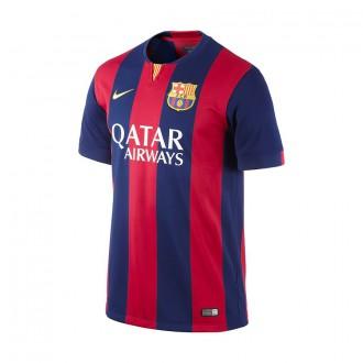 T-Shirt  Nike Jugador FC Barcelona Home 2014-2015 Blue-Deep Red