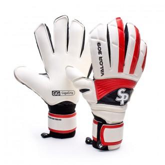 Glove  SP Valor 309 Gigagrip White-Red-Black