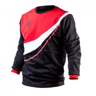 Sweatshirt  SP Valor 309 Preto-Vermelho-Branco