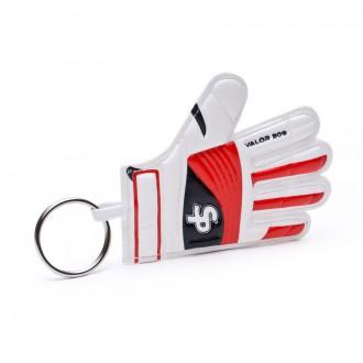 Porta-chaves  Soloporteros Valor 309 GG Branco-Vermelho