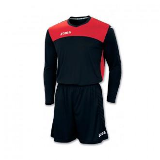 Goalkeeper set  Joma Area IV Black-Red