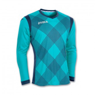 T-Shirt  Joma m/l Derby Turquoise