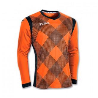 Maillot  Joma m/l Derby Orange-Noir