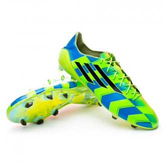 Boot  adidas adizero F50 Crazylight FG Solar gold-Black-Solar green