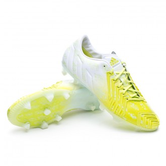 Boot  adidas Predator Instinct FG Exclusiva White-Solar green