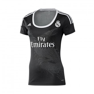 T-Shirt  adidas Real Madrid 3ª Women 2014-2015 Black