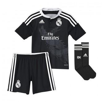 Goalkeeper set  adidas Jr Real Madrid 3ª 2014-2015 Black