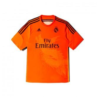 T-Shirt  adidas Jr Portero Real Madrid 3ª 2014-2015 Black